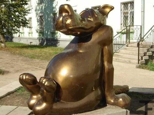 Памятник волку - Щас спою (Ангарск)