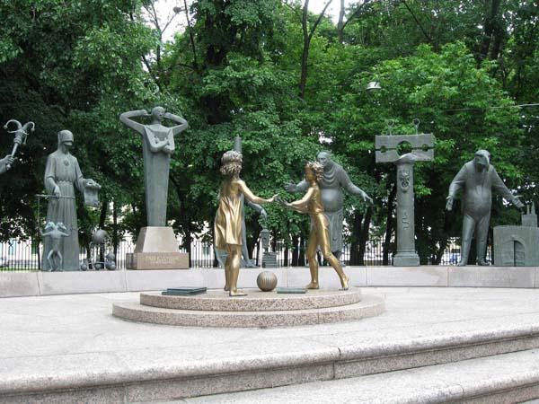 Памятник людским порокам - Москва