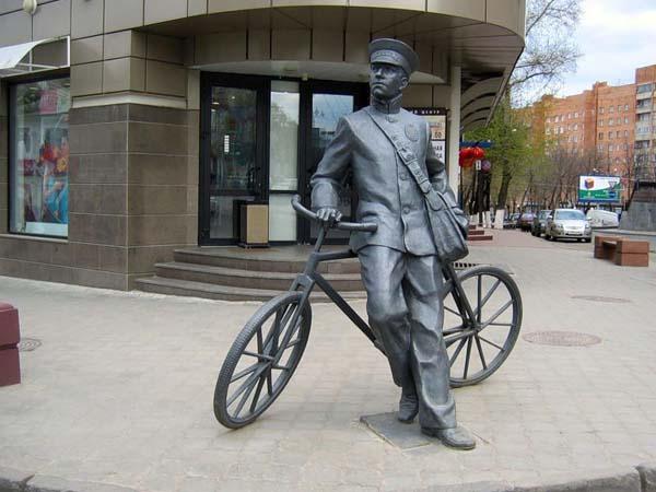 Памятник почтальону - Нижний Новгород