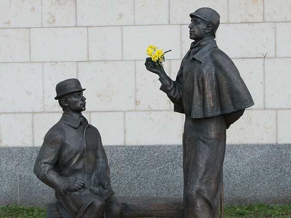 Памятник Шерлоку Холмсу