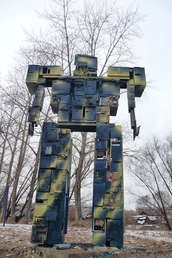 Памятник старым технологиям - Екатеринбург