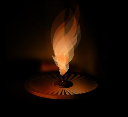 Виртуальный вечный огонь