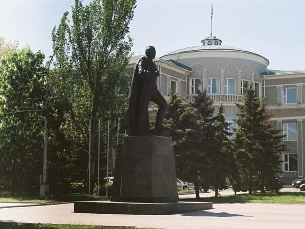 Памятник Ткаченко И.Ф. - Донецк