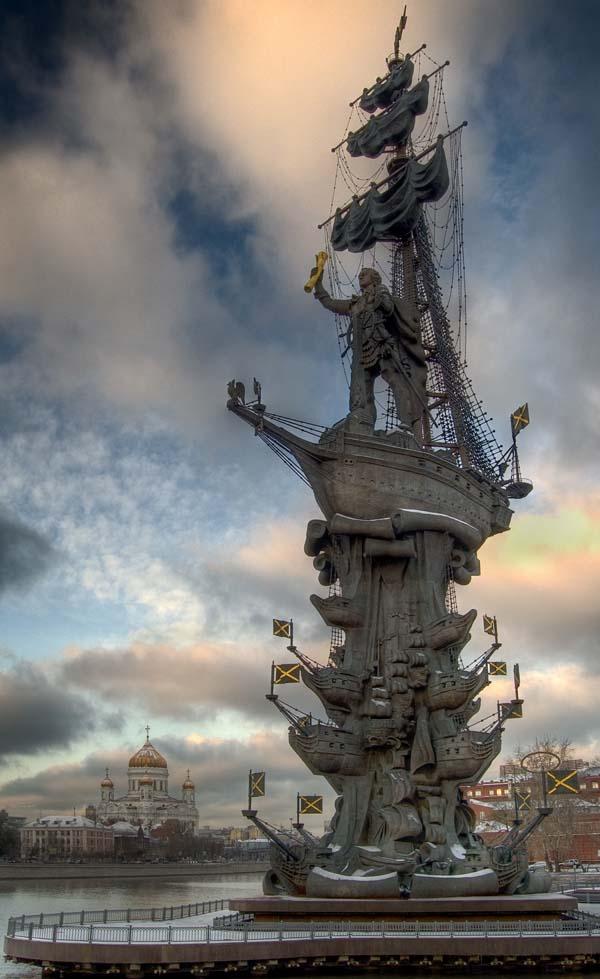 Памятник Петру I - Москва