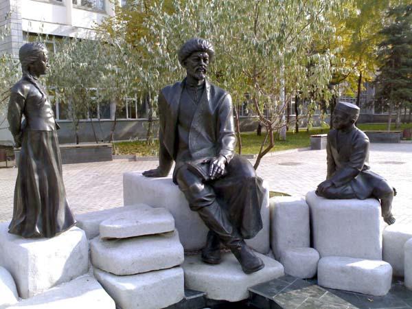 Памятник Мифтахетдину Акмулле - Уфа