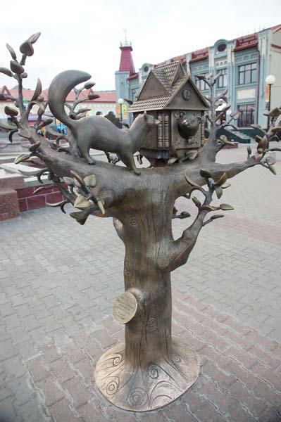 Памятник кунице - Уфа