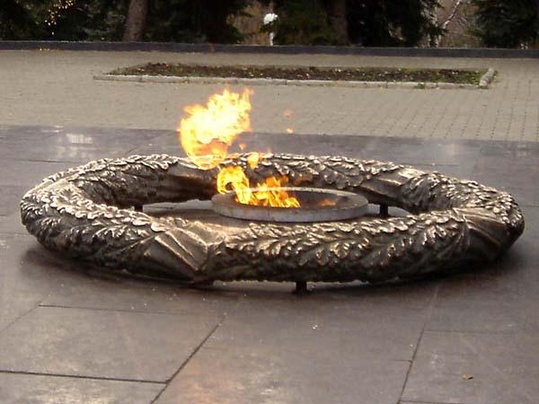 Памятник вечный огонь - Уфа
