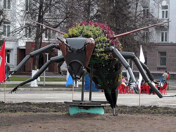 Памятник бурзянской пчеле - Уфа