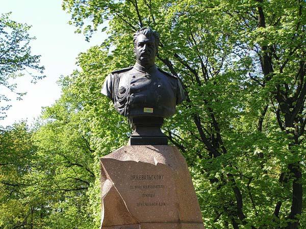 Памятник Пржевальскому в Санкт-Петербурге