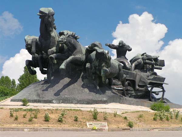 Тачанка-ростовчанка в Ростове-на-Дону