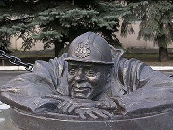 Памятник водопроводчику - Гомель