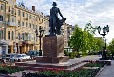 Памятник Пушкину А.С. (г. Ростов-на-Дону)