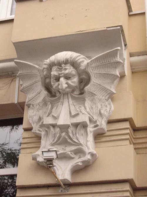 Декор здания (г. Ростов-на-Дону)