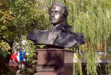 Бюст Лермонтова