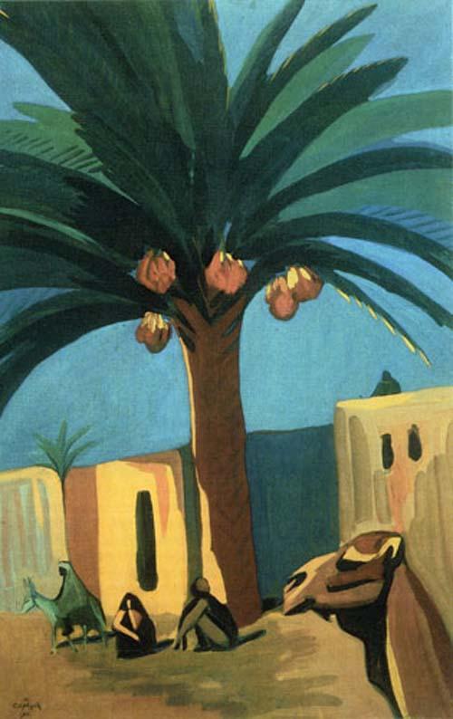 Финиковая пальма - М. Сарьян 1911
