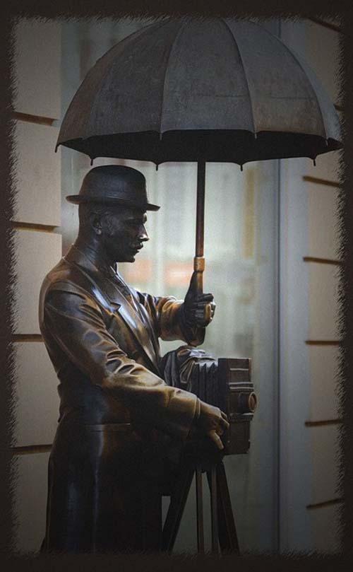 Памятник фотографу - Санкт-Петербург