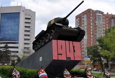 Памятник танкистам - Ростов-на-Дону