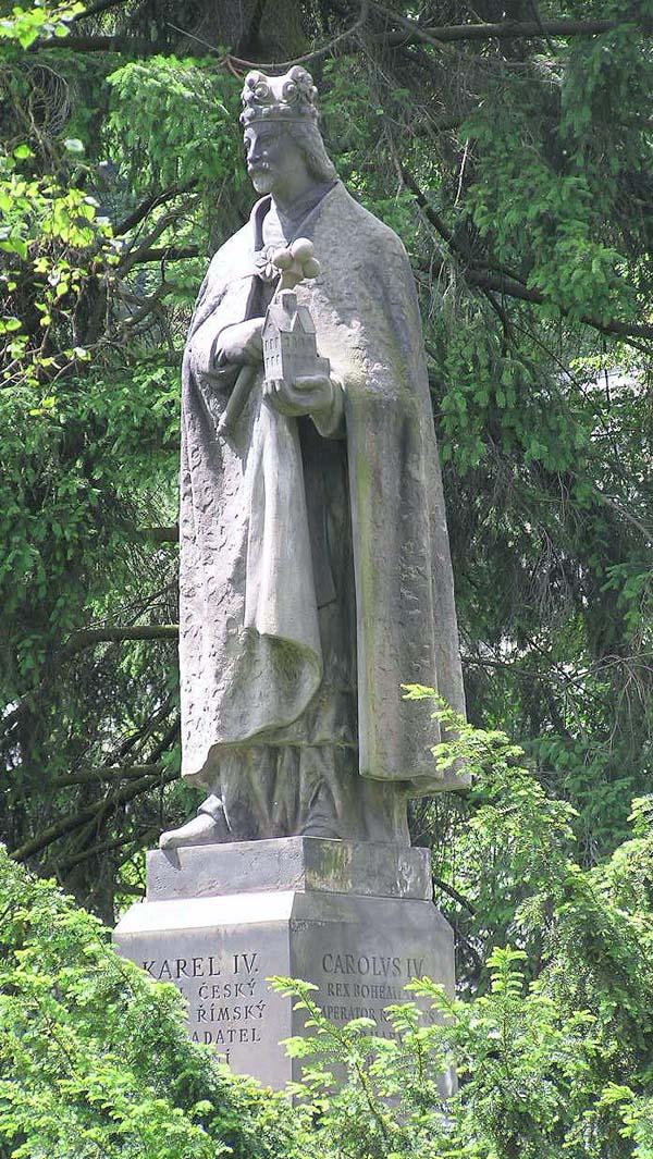 Памятник Карлу IV - Карловы Вары, Чехия