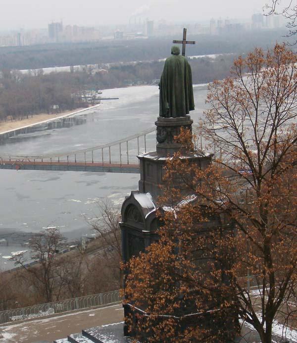 Памятник Владимиру Великому - Киев