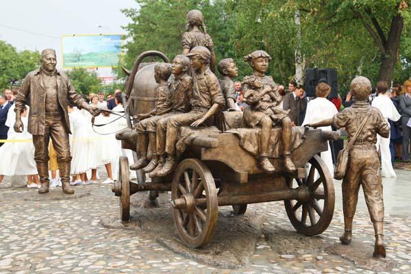 Памятник благотворительности - Казань