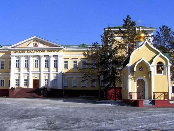 Памятник-часовня - Омск