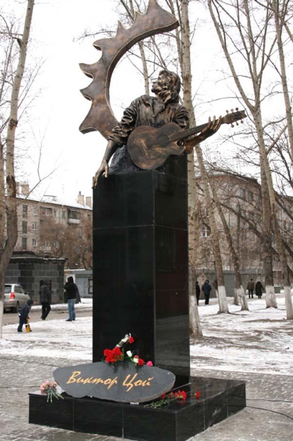 Памятник Цою - Барнаул