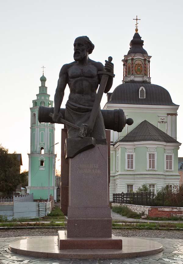 Памятник Демидову - Тула
