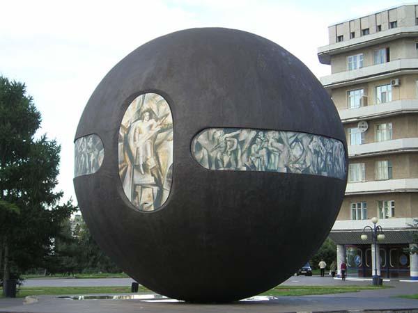 Памятник держава - Омск