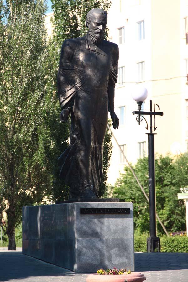 Памятник Достоевскому Ф.М. - Омск