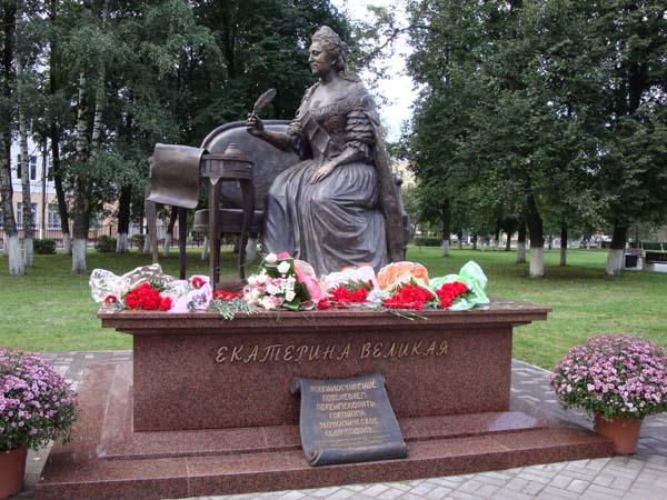 Памятник Екатерине II - Подольск