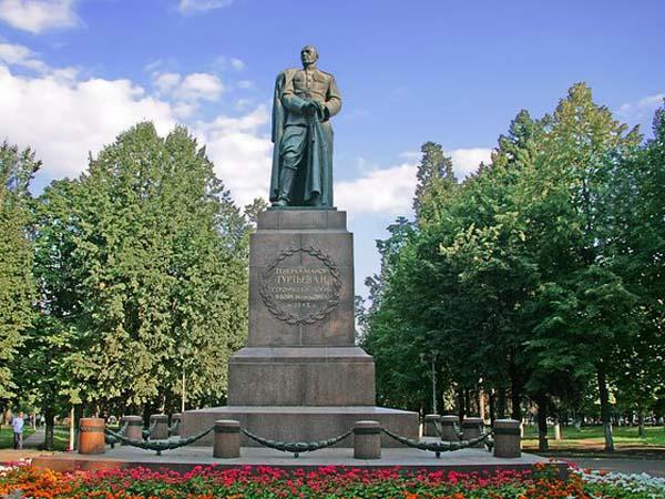 Памятник Гуртьеву Л.Н. - Орел