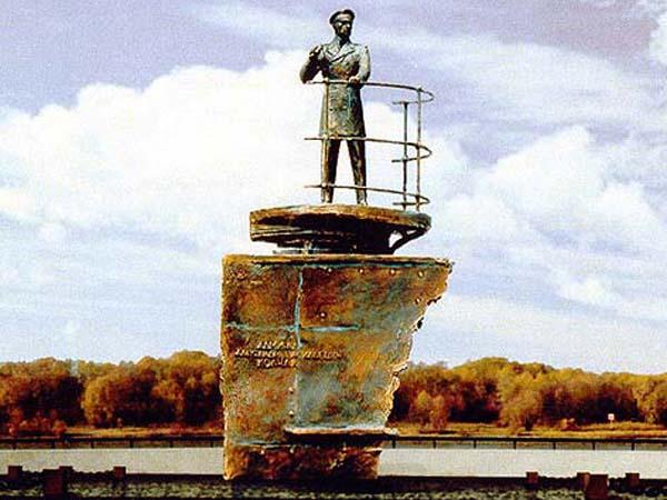 Памятник Колчаку - Омск