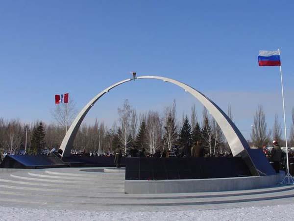Мемориал погибшим в локальных войнах - Омск