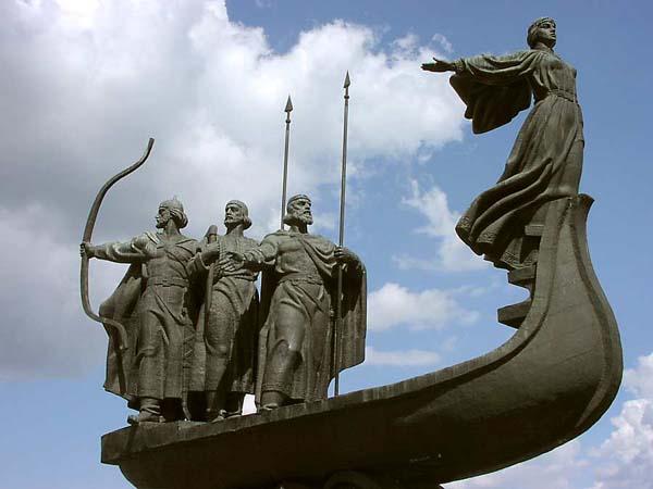 Памятник основателям Киева - Киев
