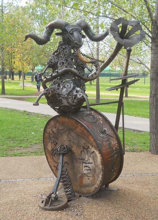Памятник овен - Москва