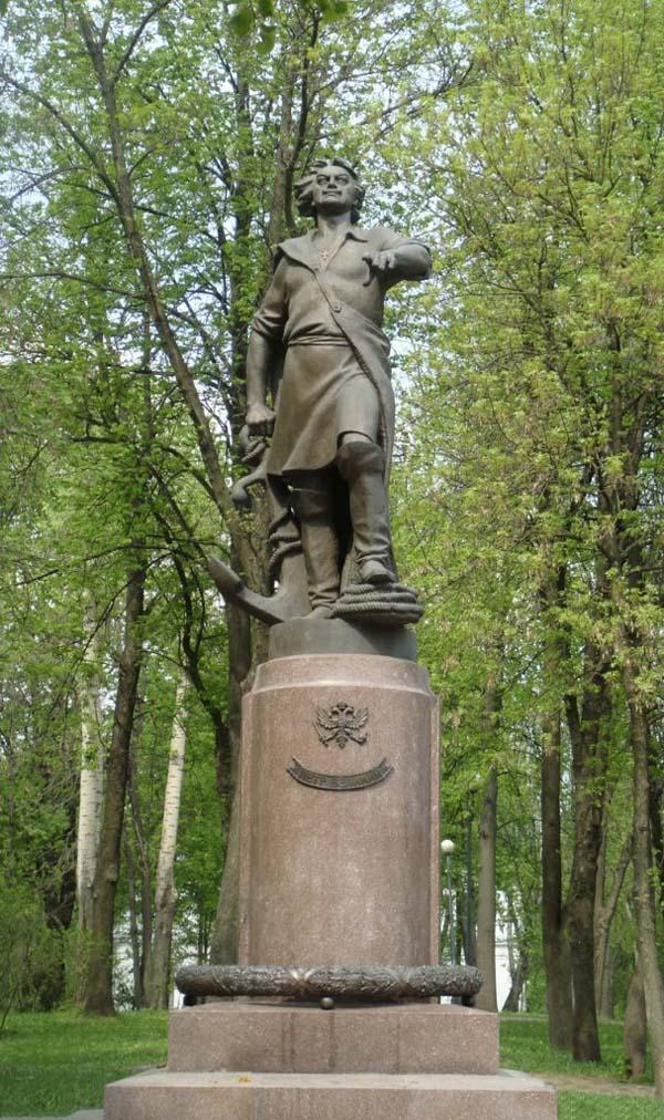 Памятник Петру 1 - Москва, Измайлово