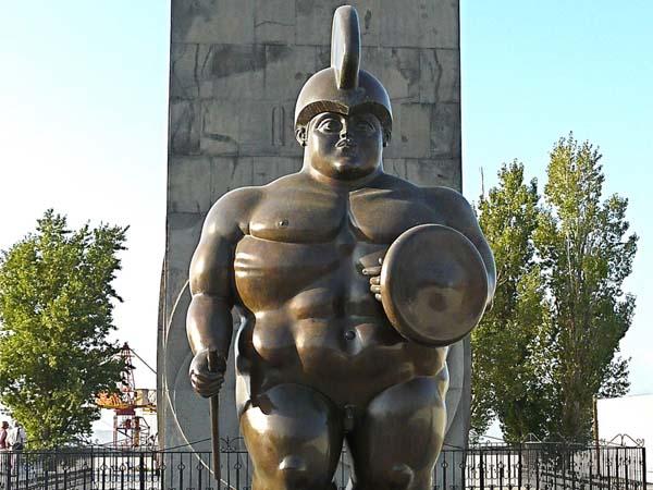 Скульптура римский воин