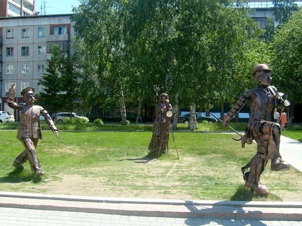 Памятник Снимается кино