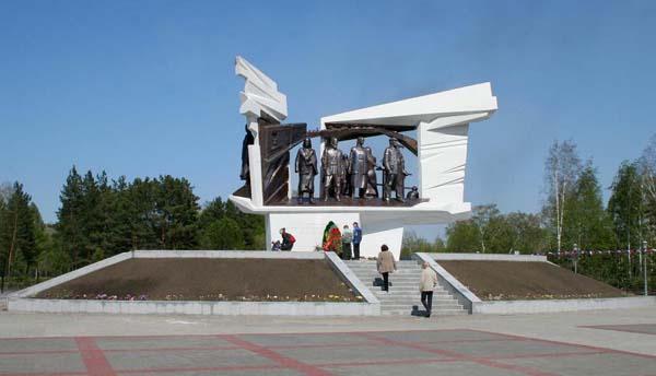 Памятник труженикам тыла - Омск