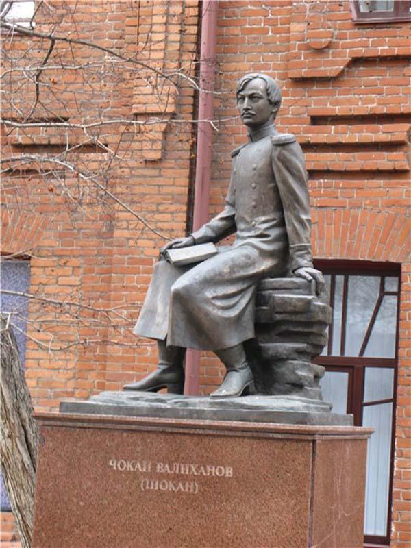 Памятник путешественнику Валиханову Ч.Ч. - Омск