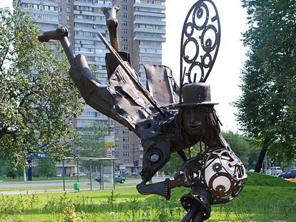 Памятник водолей - Москва