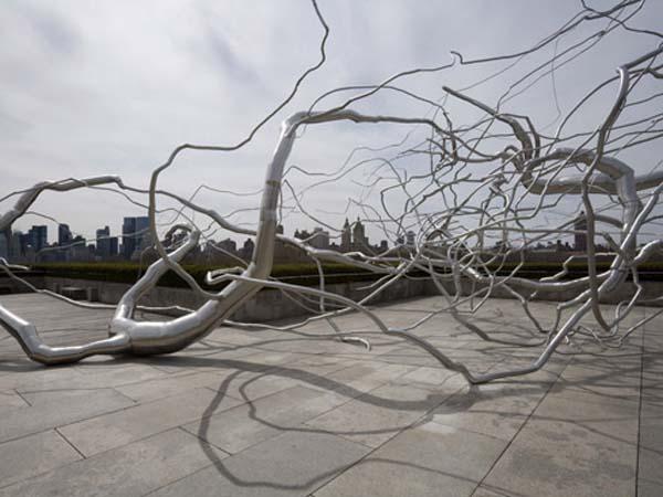 Памятник водоворот - Нью Йорк