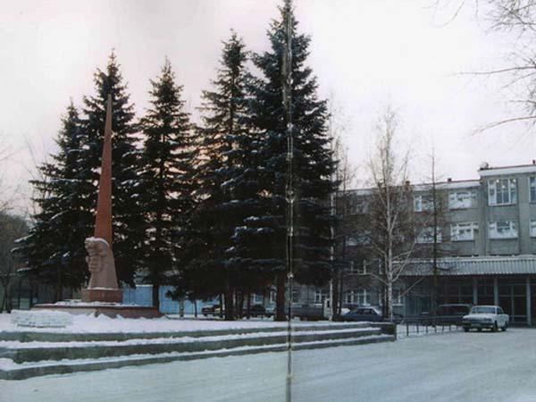 Памятник воинам-заводчанам - Омск