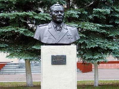 Бюст Кошевому П.К. - Омск