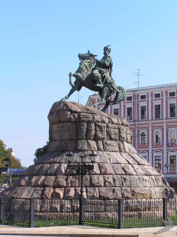 Памятник Богдану Хмельницкому - Киев