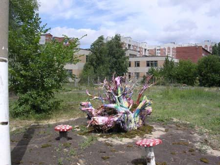 Деревянные поделки - Омск