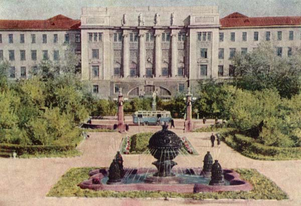 Фонтан Изобилие - Омск