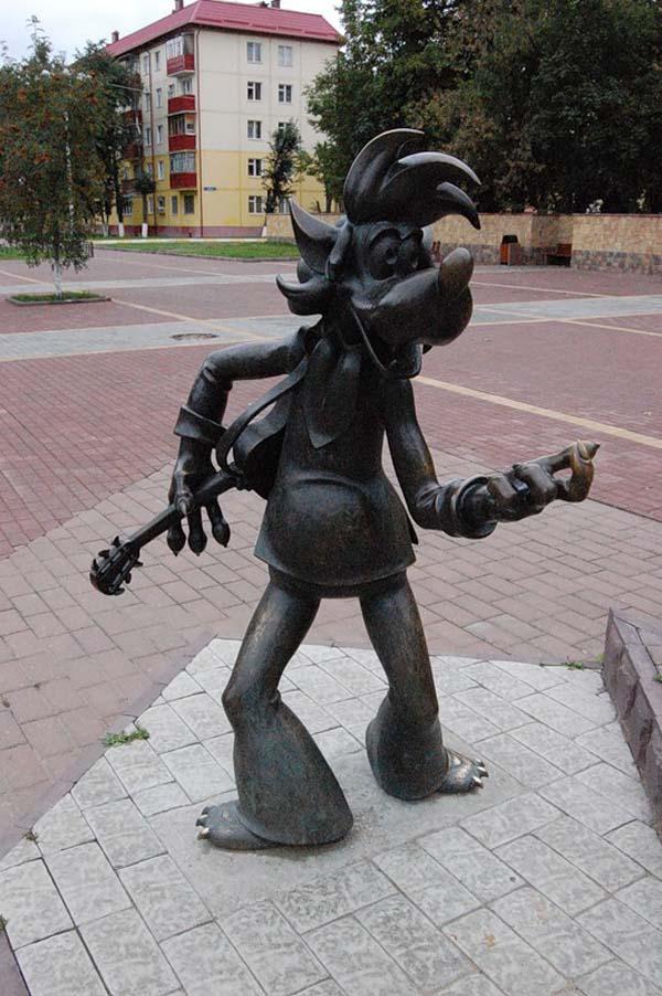 Памятник волку - Раменское