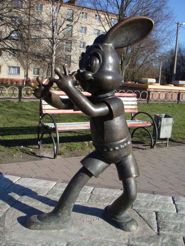 Памятник зайцу - Раменское