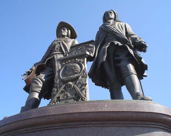 Памятник основателям города - Екатеринбург